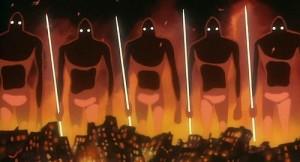 زمین پس از اتفاق فاجعهباری که تحت عنوان «هفت روز آتش» شناخته میشود، توسط موجوداتی به دست خود انسانها ساخته شده بودند، رو به نابودی کشانده شد. حالا پس از گذشت هزار سال، انسانها میخواهند با استفاده از همان موجودات، زمین را به تصرف دوبارهی خود درآورند