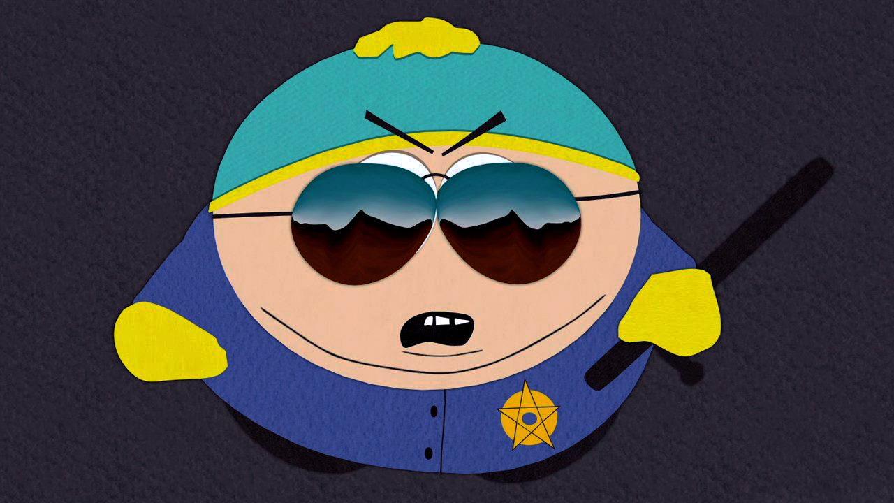 cartman-police