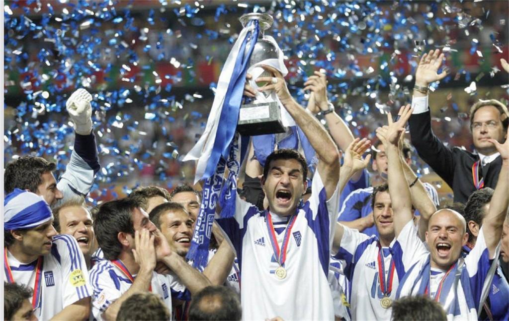واژگونی یعنی همین! چه کسی فکرش را میکرد یونان قهرمان جام ملتهای اروپای ۲۰۰۴ شود؟