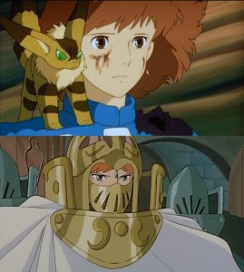 ناویشکا و کوشانا دو شخصیت اصلی این انیمه هستند که داستان آن، روایتِ برخورد این دو با یک مسئله است؛ بقای انسانها.