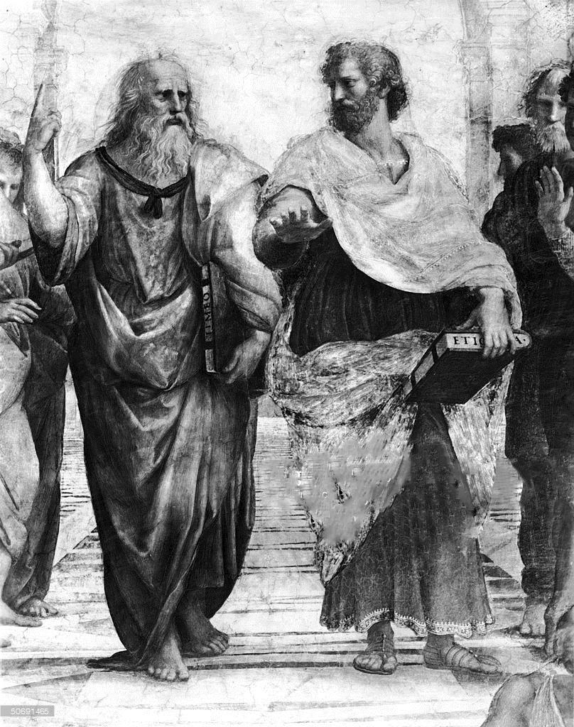 افلاطون اعتقاد داشت که حکومت درست، نظامی است که در آن یک فیلسوف پادشاه باشد و در سوی دیگر ارسطو بر این باور بود که امکان فساد چنین حکومتی بیشتر از دموکراسی است. در نظر ارسطو، حکومت مردم، با وجود اینکه همواره بهترین شکل حکومت نیست، اما کمتر از باقی شیوههای حکمرانی درگیر فساد حاکمان میشود.