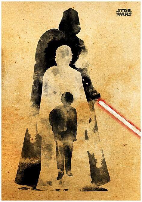 بعضی فلاسفه پاسخ میدهند انیکن آزادانه انتخاب نمیکند که امپراتور را به چاه راکتور دومین ستارهٔ مرگ بیاندازد و قبول میکنند که دانش ناظر سرمدی آیندهاش را رقم زده است؛ هر آنچه که به درستی پیشگویی شده باید اتفاق بیافتد. اما دانش ناظر سرمدی را چه چیزی تعیین میکند؟ چه چیز در اولین قدم افسانهٔ وجود شخص منتخب را میسازد؟