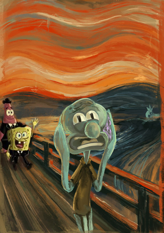 spongebob scream