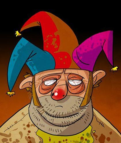 شاه جفری ابتدا دستور میدهد تا گردن دنتوس را بزنند: «این احمق باید تا فردا کشته شود!» هرچند با پیشنهاد سانسا استارک، جفری تصمیم میگیرد تا او دلقک دربار شود. جفری اعلام میکند: «از امروز تو دلقک جدید من هستی. میتوانی با پسرماه زندگی کنی و لباسهای چهلتکهی رنگارنگ بپوشی.» جفری بهعنوان پادشاه از قدرت خویش استفاده کرد و با دلقک نامیدن دنتوس، به او هویتی جدید بخشید.
